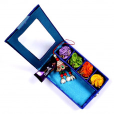 Lumba Rakhi online in Gift Box for Bhabhi- Rakhis Online -LR 001 4P
