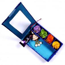 Lumba Rakhi online in Gift Box for Bhabhi- Rakhis Online -LR 002 4P