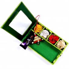 Lumba Rakhi online in Gift Box for Bhabhi- Rakhis Online -LR 004 4P