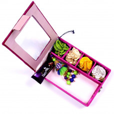 Lumba Rakhi online in Gift Box for Bhabhi- Rakhis Online -LR 007 4P