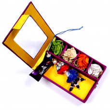 Lumba Rakhi online in Gift Box for Bhabhi- Rakhis Online -LR 008 4P