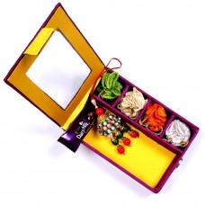 Lumba Rakhi online in Gift Box for Bhabhi- Rakhis Online -LR 010 4P