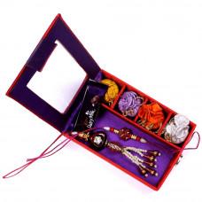Elegant Bhaiya Bhabhi Rakhi in Gift Box