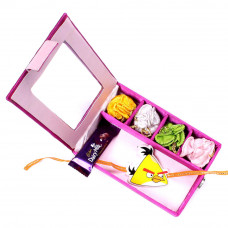 Rakhi for baby Brother - Kids Rakhi infant in Gift Box- Rakhis Online -KR 019 4P