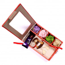 Rakhi for little Brother - Kids Rakhi in Gift Box- Rakhis Online -KR 005 4P