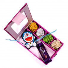 Rakhi for baby Brother - Kids Rakhi infant in Gift Box- Rakhis Online -KR 020 4P