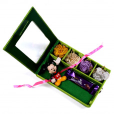 Kids Rakhi in Gift Box on Rakshabandhan- Rakhis Online -KR 014 4P