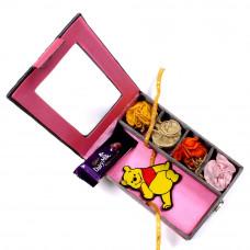 Raksha Bandhan Kids - Kids Rakhi in Gift Box- Rakhis Online -KR 023 4P