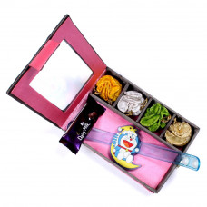 Rakhi for younger Brother - Kids Rakhi in Gift Box- Rakhis Online -KR 003 4P