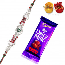 Rakhi with 1 Dairy Milk Chocolate