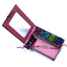 send Rakhi to India - Brother Rakhi Gift Box- Rakhis Online -BR 018 SR4P