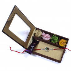 Rakhi to chandigarh India - Brother Rakhi Gift Box- Rakhis Online -BR 013 SR4P