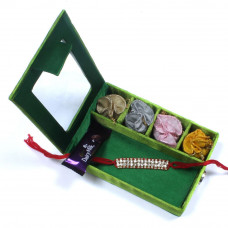 Rakhi for Brother to UK - Brother Rakhi Gift Box- Rakhis Online -BR 027 SR4P