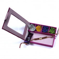 Rakhi to India from USA in a Gift Box- Rakhis Online -BR 003 SR4P