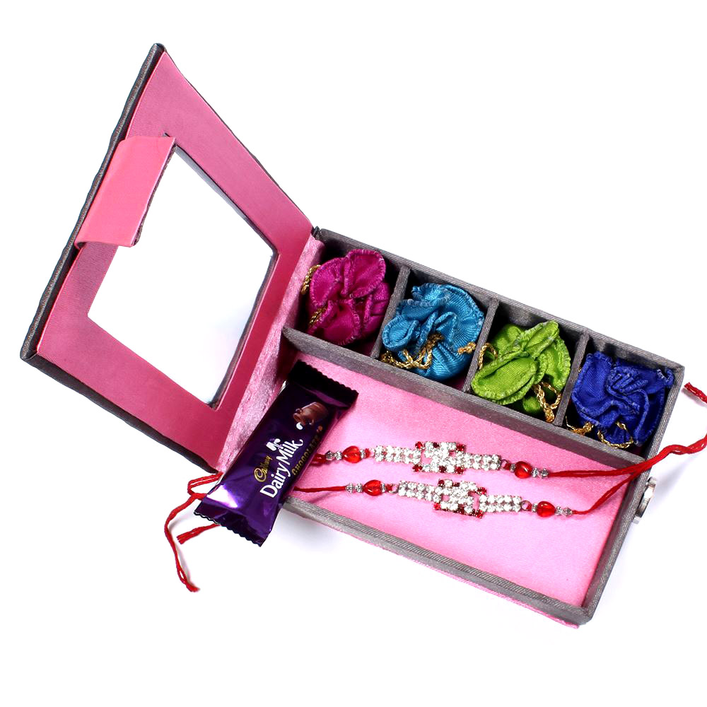Rakhi Gifts to hyderabad India - two