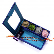 Rakhi delivery India - two Brother Rakhi Set Gift Box- Rakhis Online -BR 009 DR4P