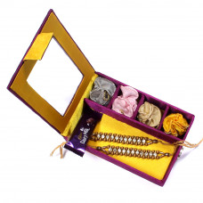 buy Rakhi Set online - two Brother Rakhi Set Gift Box- Rakhis Online -BR 014 DR4P