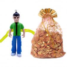 3D Ben10 Rakhi with Almonds