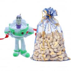 Buzz Lighty Kids 3D Rakhi with Cashew