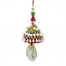 Charming Pearl Lumba Rakhi for Bhabhi