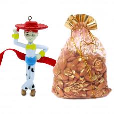 Cute 3D Kids Rakhi with Almonds