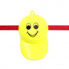 Cute Smiley Cap Whistle Rakhi