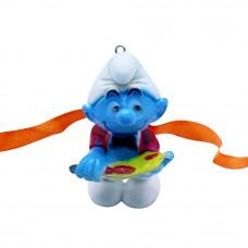 Cute Smurf Cartoon Kids Rakhi