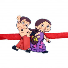 Dancing Bheem and Chhutki Rakhi