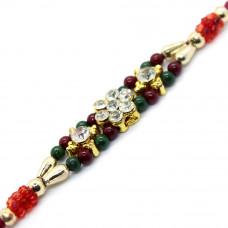 Dazzling Beads Rakhi