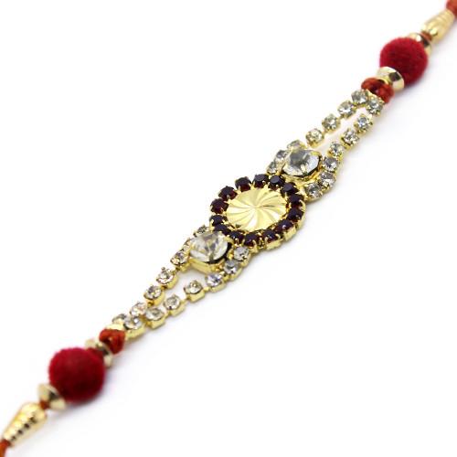 Dazzling Gems Dial Rakhi