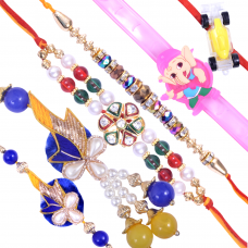 Exquisite Family Rakhi Set A