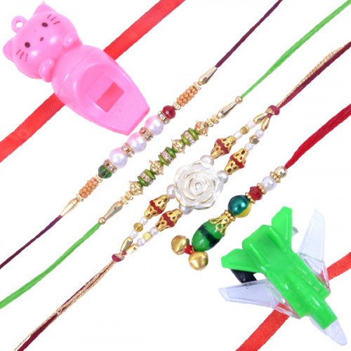 Special Family Rakhi Sets - E