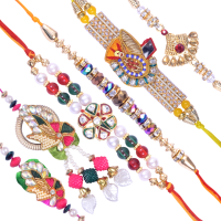 Exquisite Family Rakhi Set B