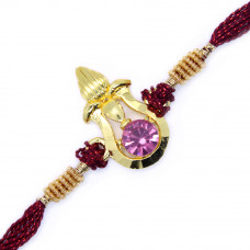 Fancy Golden Kalash Rakhi