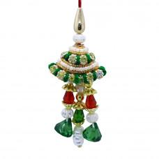 Fancy Pearl Stone Lumba Rakhi