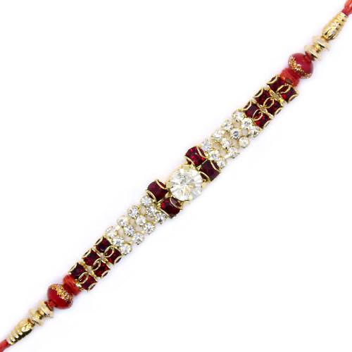 Gemstone Studded Rakhi