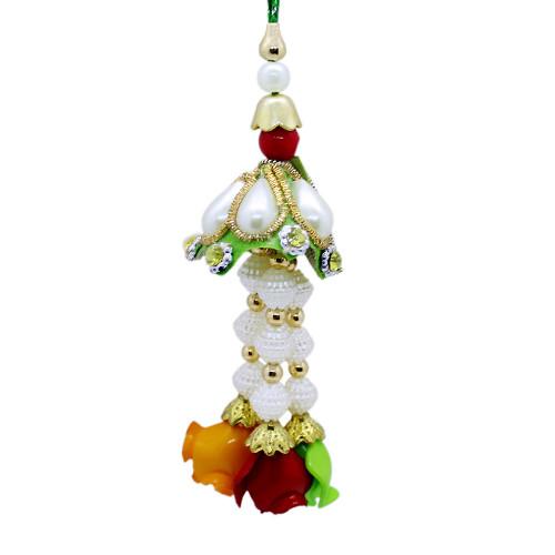Gorgeous Pearl Lumba Rakhi