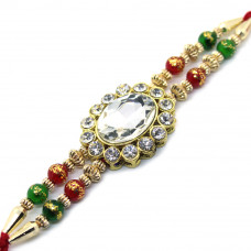 Magnificent Oval Rakhi