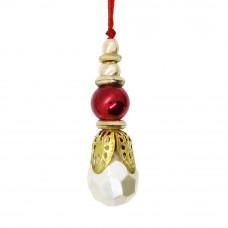 Pearl Stone Beads Bhabhi Rakhi