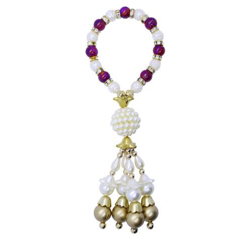 Pearl Studded Bracelet Studded Lumba Rakhi