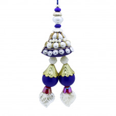 Pearl Studded Lumba Rakhi for Bhabhi