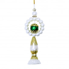 Pearls Beads Lumba Rakhi for Bhabhi