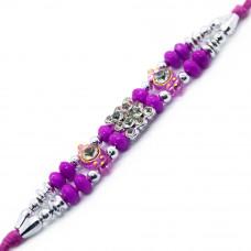 Pink Beads Rakhi
