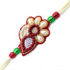 Semi Floral Rakhi