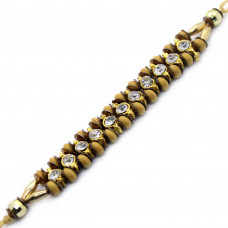 Studded Beads Brother Rakhi